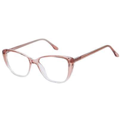 Armação de Óculos de Grau Isabela Dias Gatinho Redondo Retrô