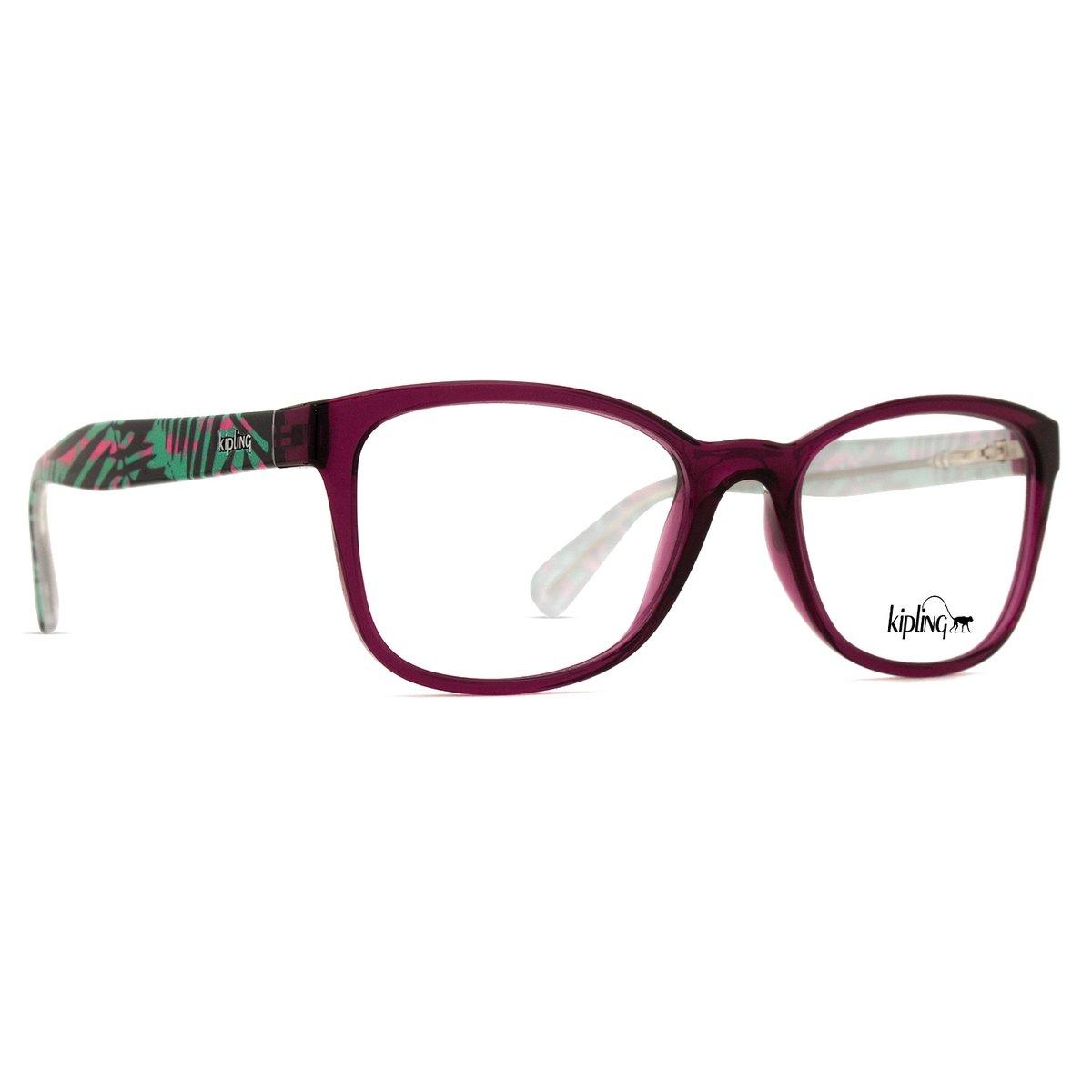 87ec31a3dad7f Armação de Óculos de Grau Kipling KP3082 E017-52 - Compre Agora ...