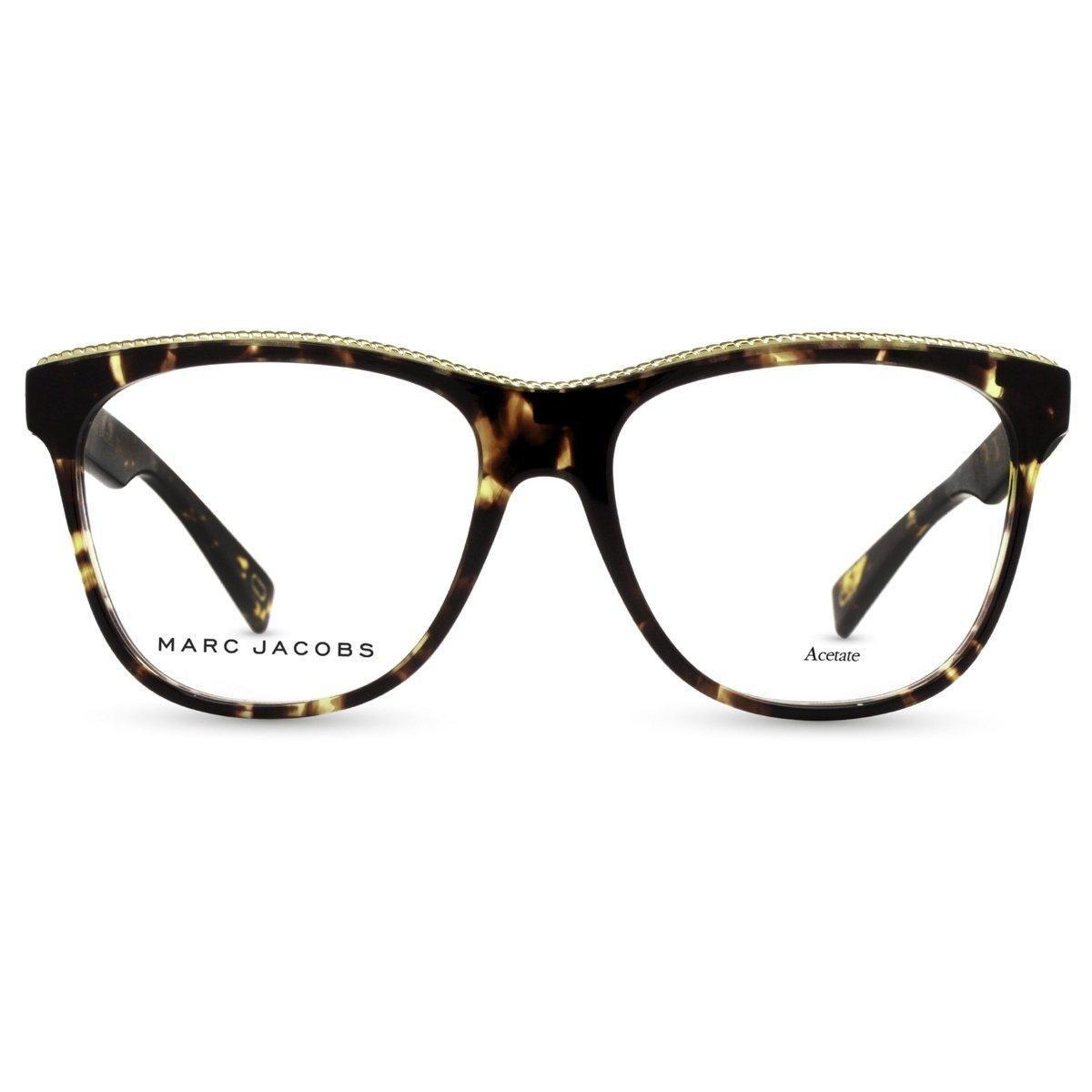 Armação de Óculos de Grau Marc Jacobs MARC164-086-54 - Compre Agora    Zattini 31da04d066