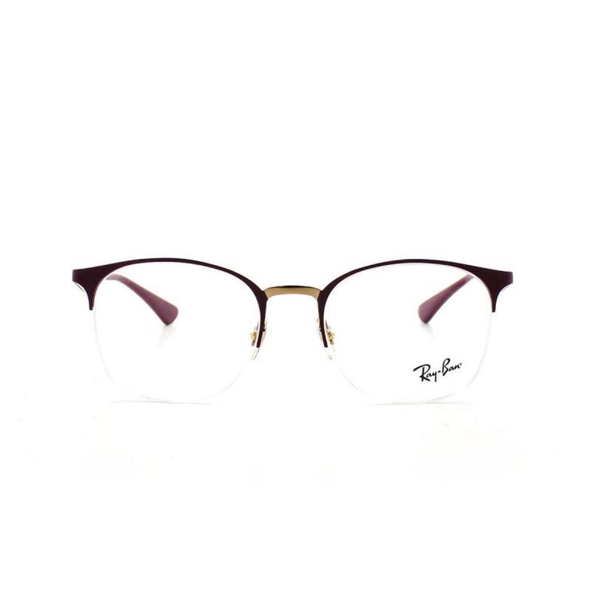 f83ee7cdda3d3 Armação De Óculos De Grau Ray Ban Metal Round 6422 T 51 C 3007 ...