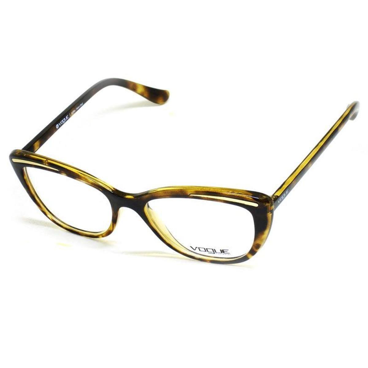 Óculos De Grau Feminino Vogue VO2887 W656 Tam.51Vogue