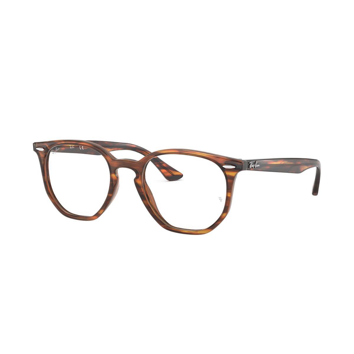 Armação de Óculos Ray-Ban Hexagonal de Grau Feminina - Marrom
