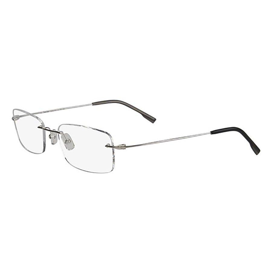 2160e16c2355c Armação Óculos de Grau Calvin Klein CK7503 030 53 - Cinza - Compre ...