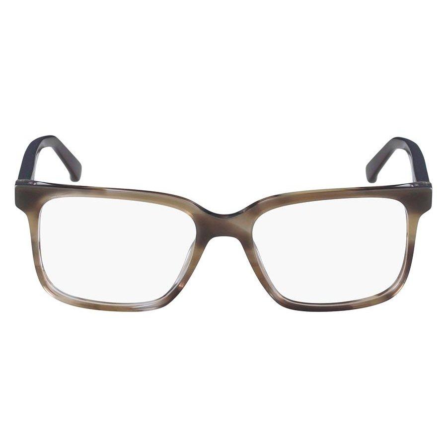 ab82295c335bf Armação Óculos de Grau Calvin Klein CK8581 263 54 - Marrom - Compre ...