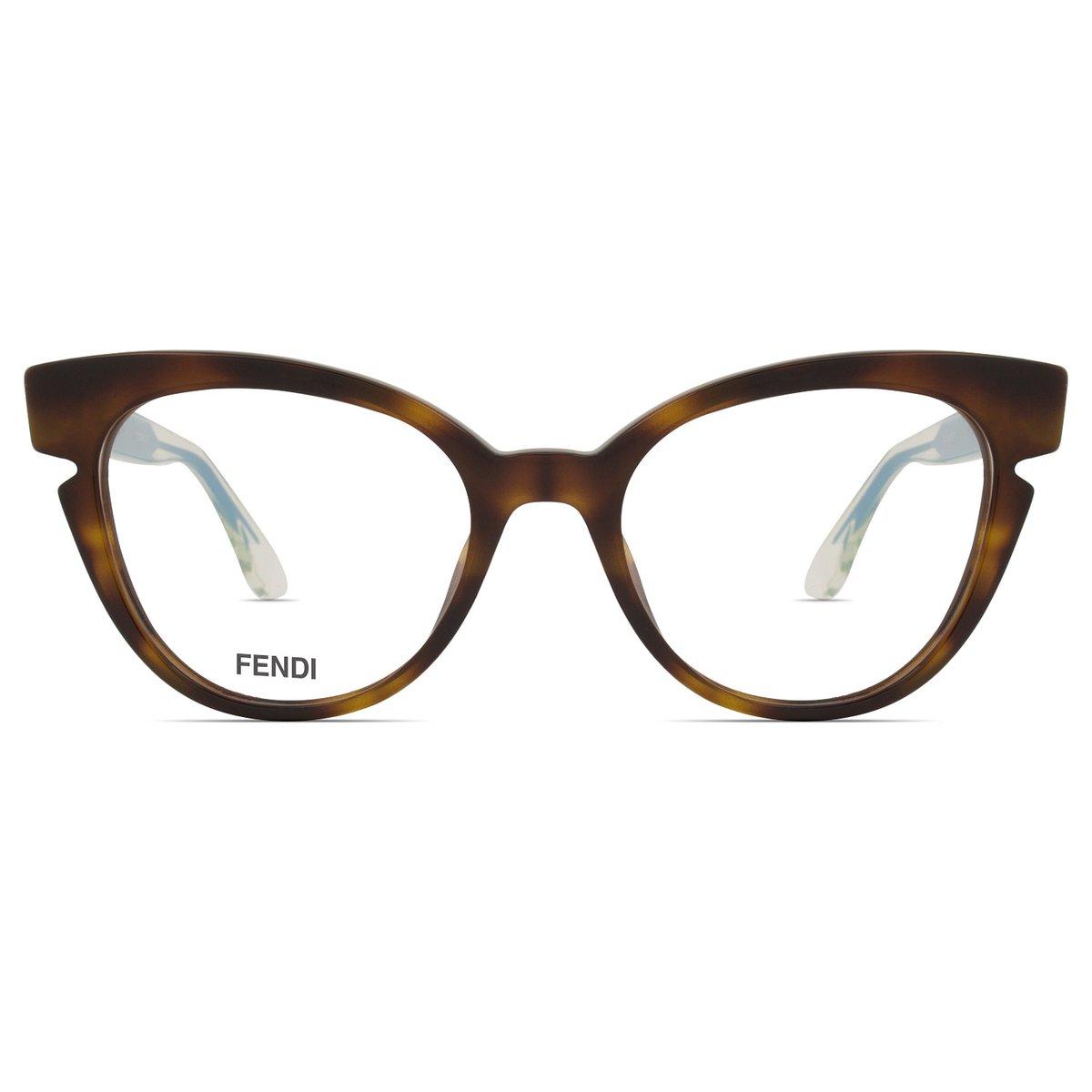 22951f8ff Armação Óculos de Grau Fendi FF0134 N9D-50   Zattini
