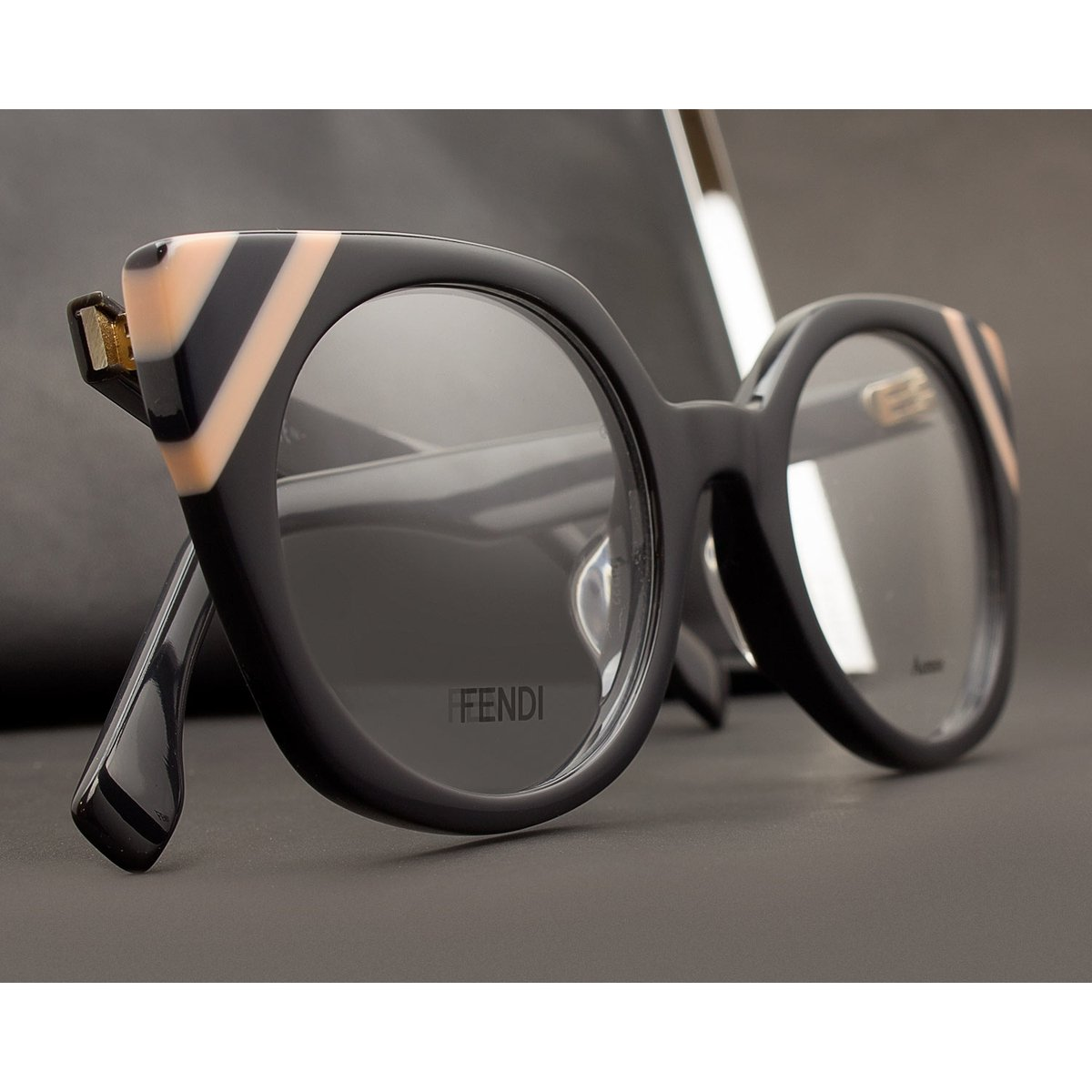 ade050fd8667a Armação Óculos de Grau Fendi FF0246 KB7-48 - Compre Agora