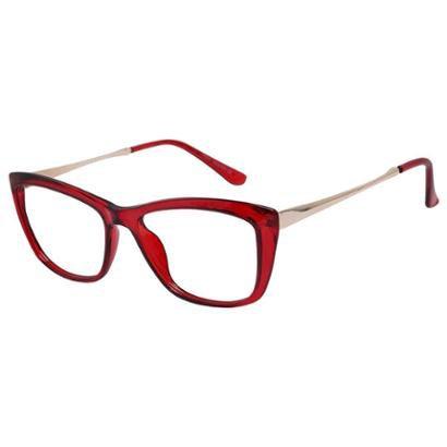 Armação Óculos de Grau Isabela Dias Retrô Quadrado