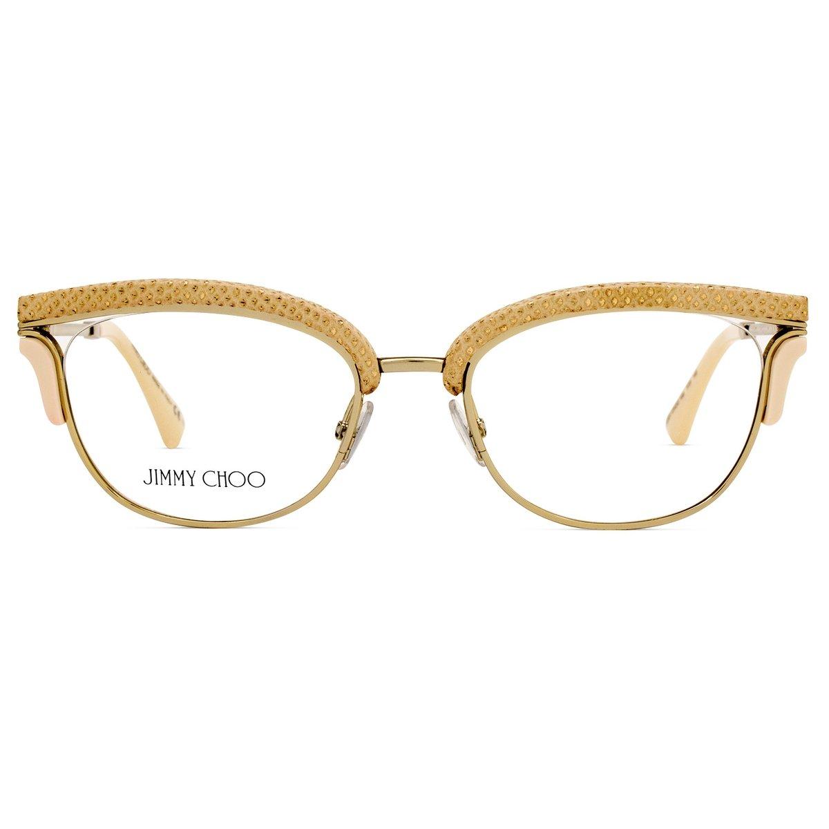 Armação Óculos de Grau Jimmy Choo JC169 PTF-50 - Compre Agora   Zattini 3f67117f00