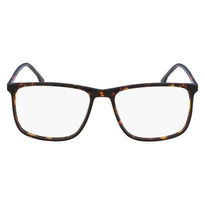 99e6471eaaa05 Armação Óculos de Grau Lacoste L2807 220 55 - Marrom - Compre Agora    Zattini
