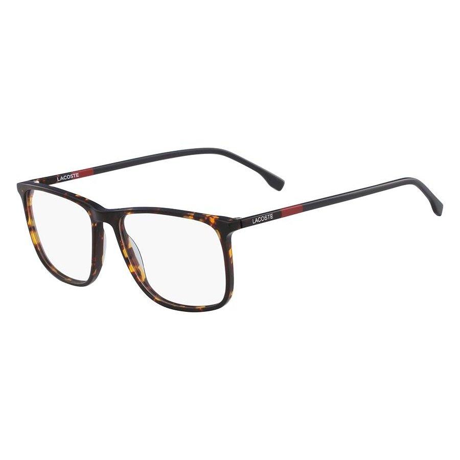 dc695f81c0c16 Armação Óculos de Grau Lacoste L2807 220 55 - Marrom - Compre Agora ...