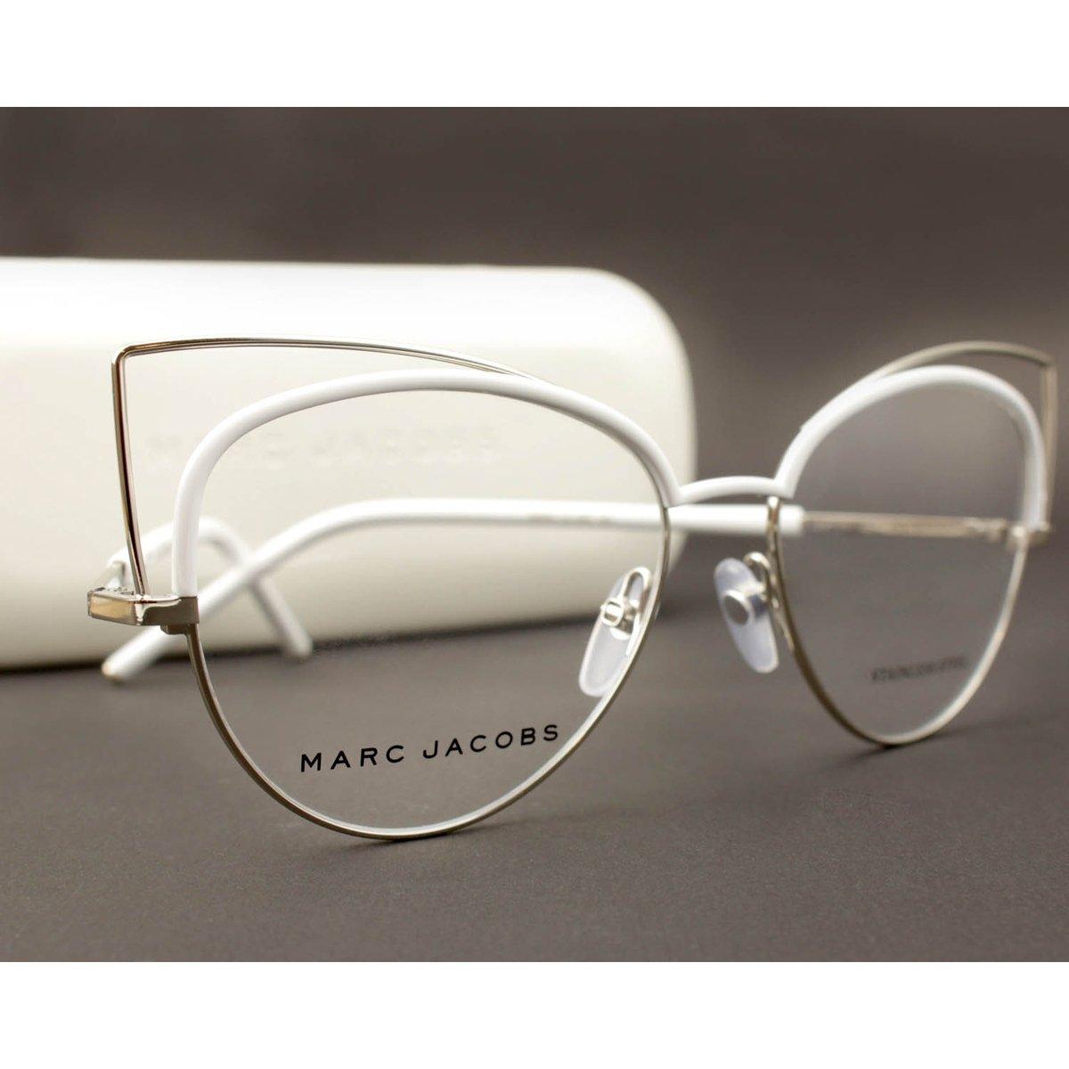 67f251f1c33f8 Armação Óculos de Grau Marc Jacobs MARC12 U05-53 - Compre Agora   Zattini