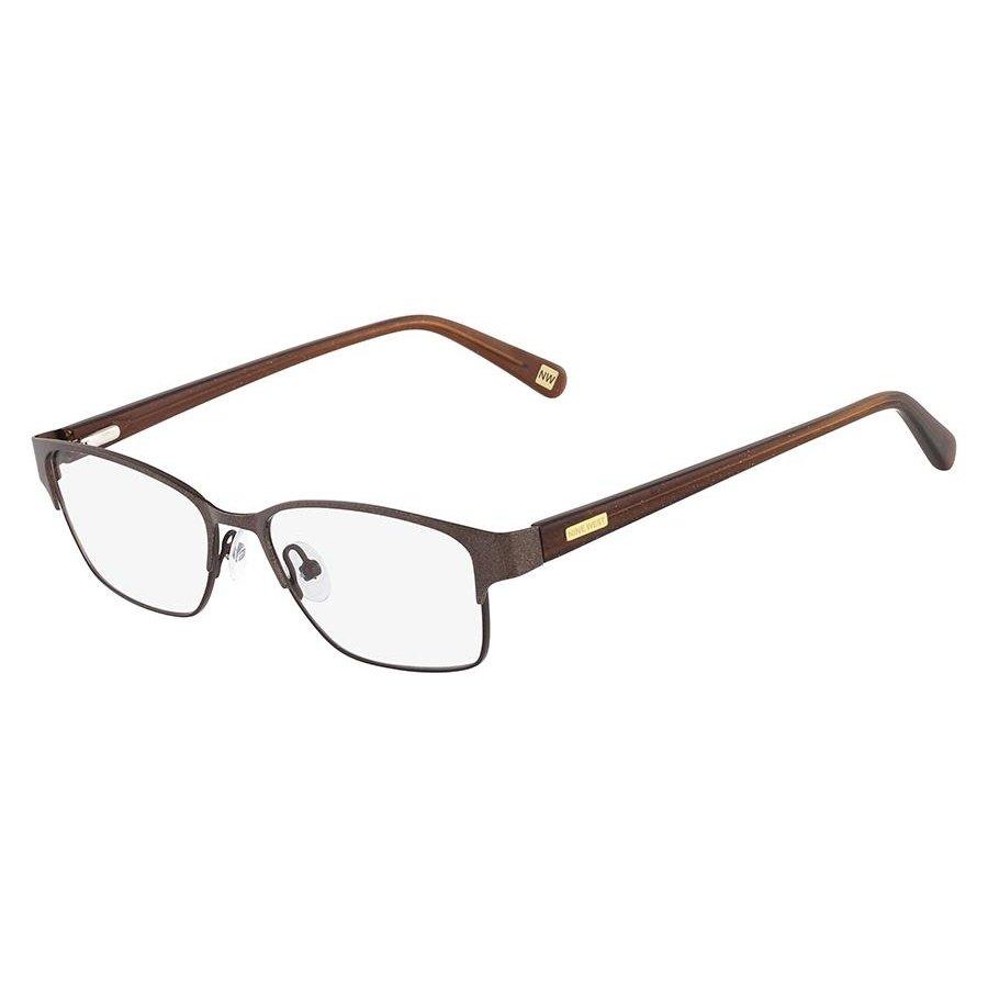 2c65f7d738e9a Armação Óculos de Grau Nine West NW1031 200 50 - Marrom - Compre ...