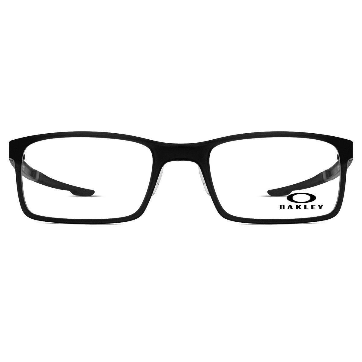 Armação Óculos de Grau Oakley Milestone 2.0 OX8047-01-52 - Compre ... a0103077cb