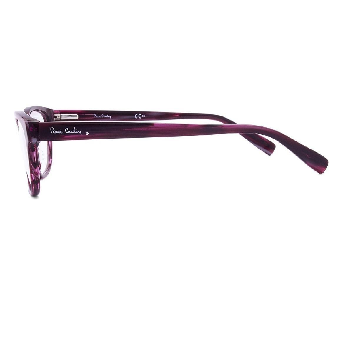 01e061424d60c Armação Óculos de Grau Pierre Cardin PC8448 7FF 5,3 cm - Roxo ...