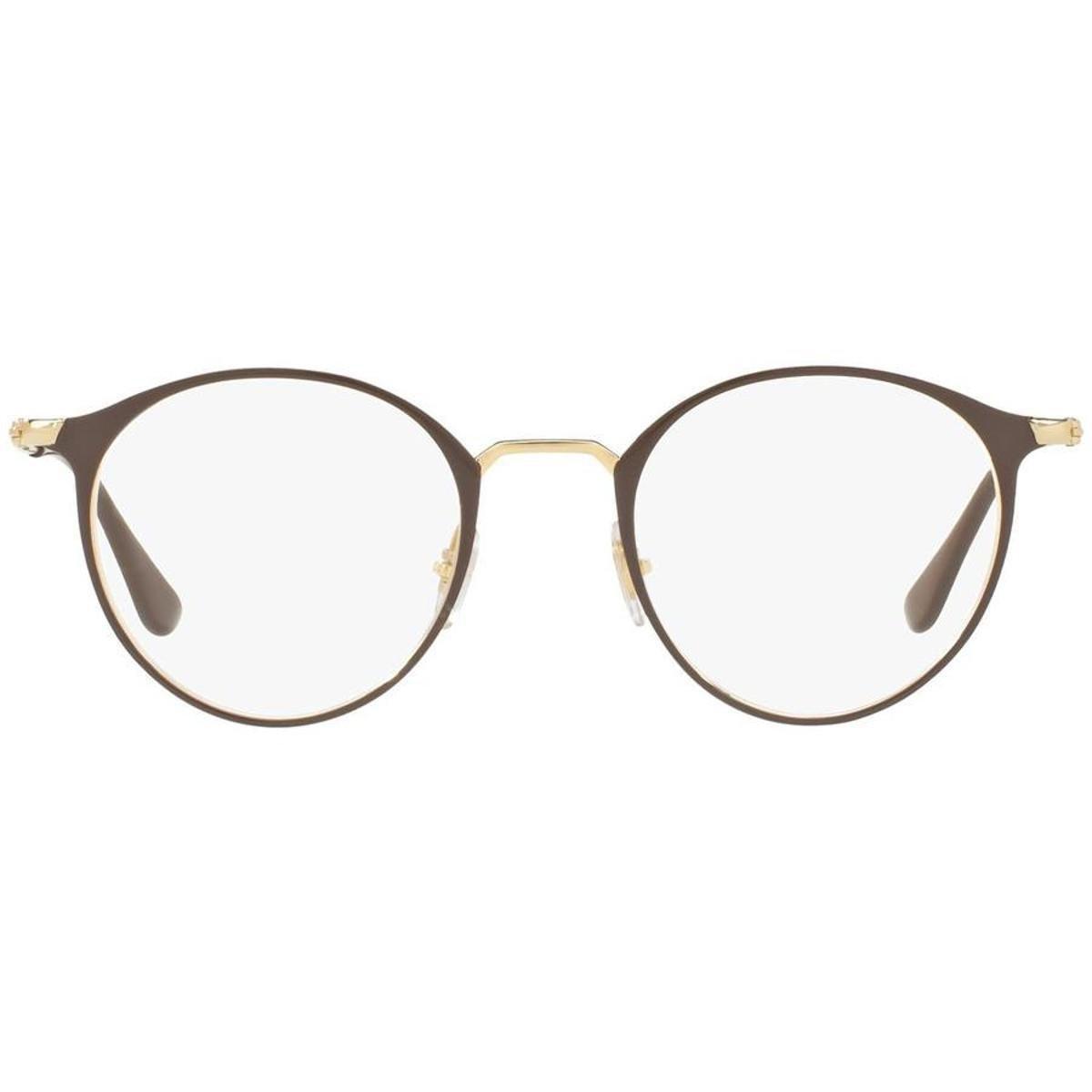 ce27c17847ddf Armação Óculos de Grau Ray Ban RX6378 2905-49 - Compre Agora