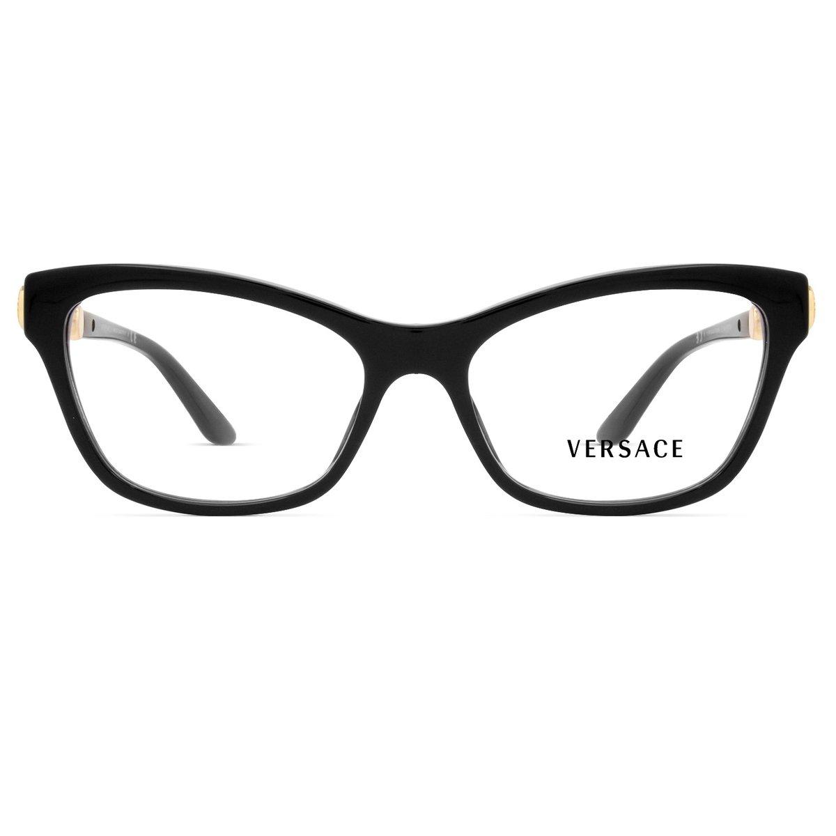 a6df2c449 Armação Óculos de Grau Versace VE3214 GB1-54 | Zattini