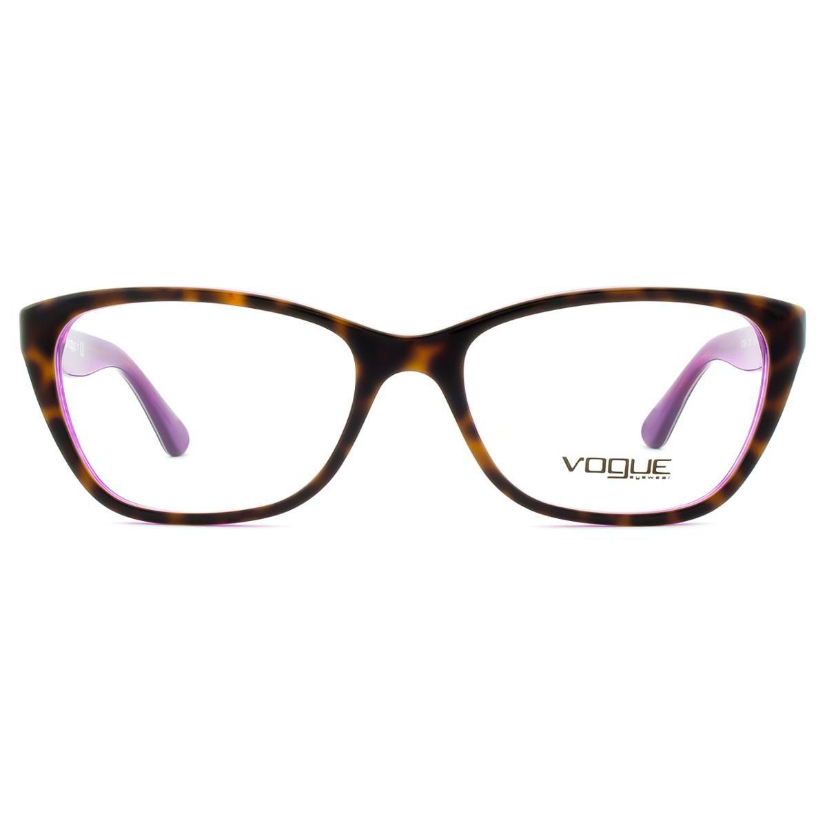 0ba7c06eea608 Armação Óculos de Grau Vogue Rainbow VO2961 2019-53 - Compre Agora ...