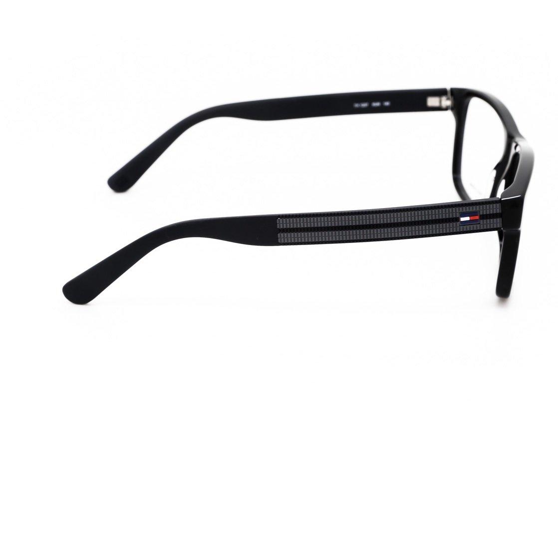 Armação Óculos Tommy Hilfiger TH1237 KUN - Preto - Compre Agora ... f823ae488c