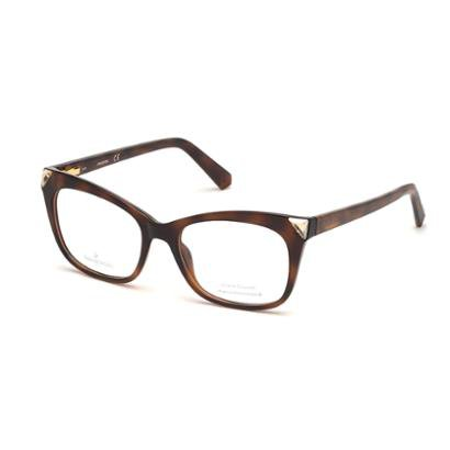 Armação Para Óculos De Grau Swarovski Feminina-Feminino