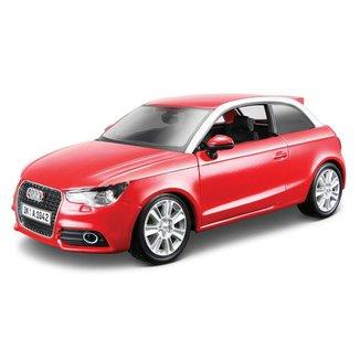 Audi A1 1/24 Vermelho