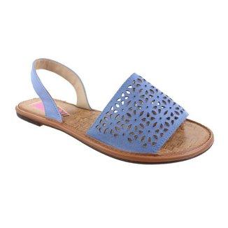 Avarca Moleca Comfort Azul Feminino 38