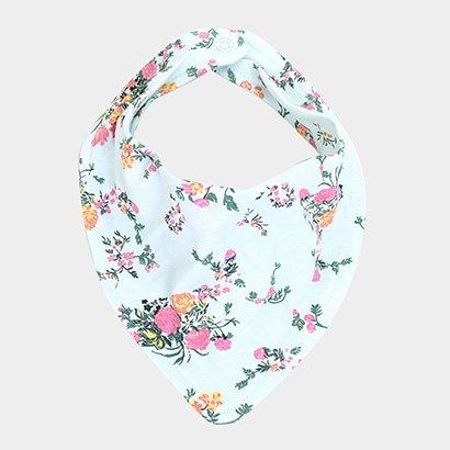 Imagem de Babador Infantil Up Baby Floral Feminino