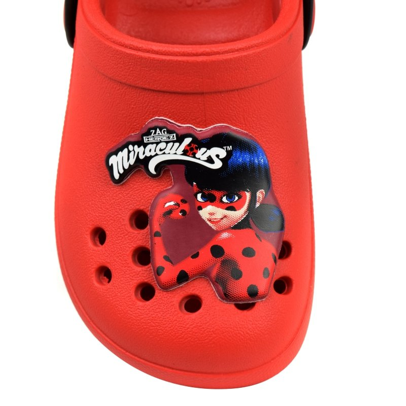 Vermelho LadyBug Babuche Grendene Infantil Infantil Babuche qUnwT7f0