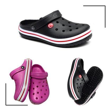 Babuche Infantil Leve Confotável Estilo Crocs