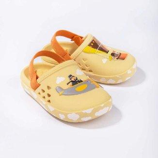 Babuche Infantil Mundo Bita Baby Grendene Kids Amarelo