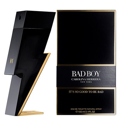 Bad Boy Carolina Herrera - Perfume Masculino - Eau de Toilette - 100ml - Masculino-Incolor