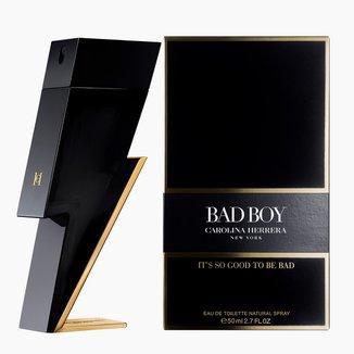 Bad Boy Carolina Herrera - Perfume Masculino - Eau de Toilette - 50ml