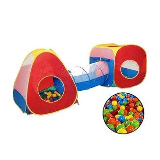 Barraca Infantil 3 Em 1 Com 50 Bolinhas Brinqway - Bw-067