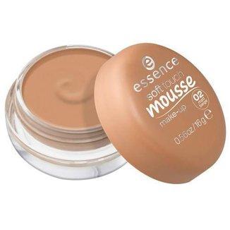 Base Cremosa Essence - Soft Touch Mousse 02 Matt Beige