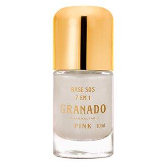 Base para Unha Granado - Pink SOS 7 em 1 10ml
