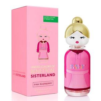 Benetton Sisterland Pink Raspberry Eau de Toilette 80 ml - Perfume Feminino