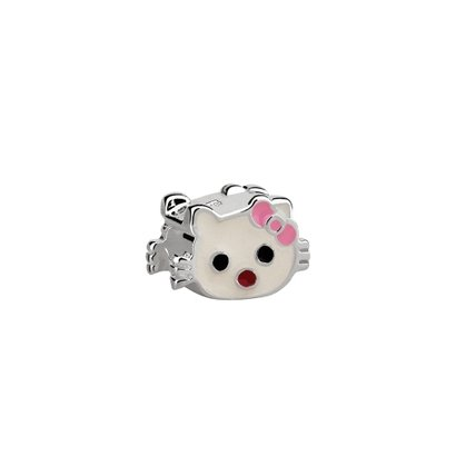 Berloque Hello Kitty de Prata Moments