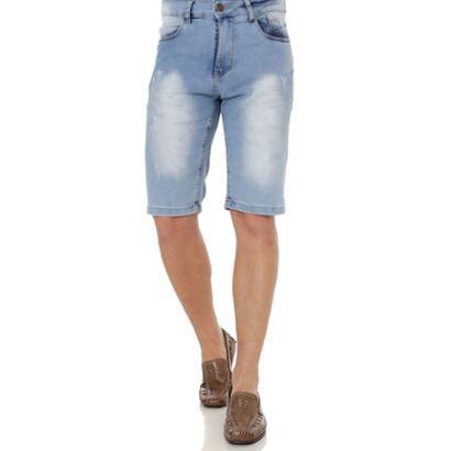Bermuda 7 Ganghts Jeans Masculina