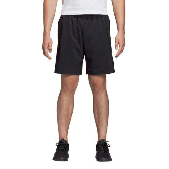 Bermuda Adidas Essentials Linear Chelsea Masculina - Preto+Branco
