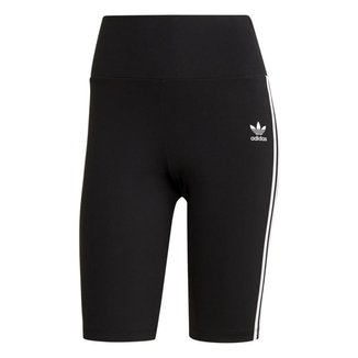 Bermuda Adidas Feminina Esportiva Cintura Alta Conforto Leve