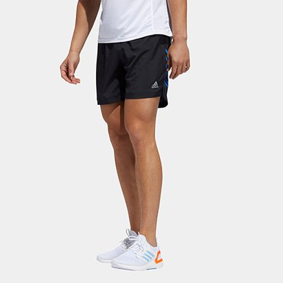 Bermuda Adidas Run It 3s Masculino