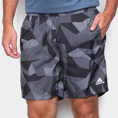 Bermuda Adidas Run It Camo Masculina