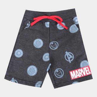 Bermuda Infantil Marvel Avengers Masculina