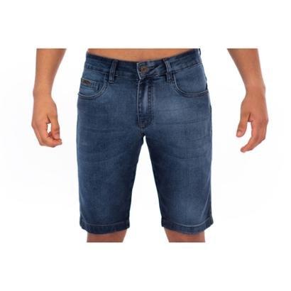 Bermuda Jean Masculino Slim Confort