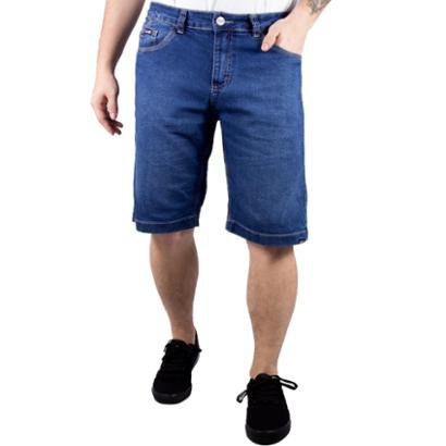 Bermuda Jeans Alfa Explore Bolso Antifurto