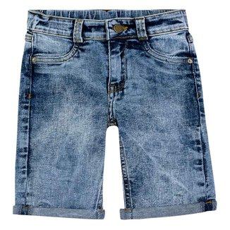 Bermuda Jeans Bebê PUC Estonada Reta Masculina