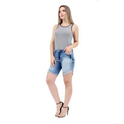 Bermuda Jeans Clothify Ciclista Feminina