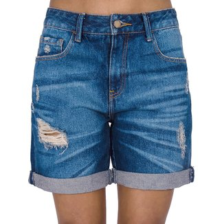 Bermuda Jeans Destroyed Cantão