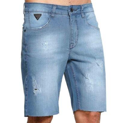 Bermuda Jeans Diferenciada Vlcs 18786 Masculina