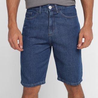 Bermuda Jeans Hering Casual Masculina
