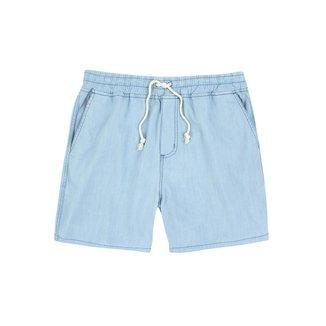 Bermuda Jeans Hering Viscose Com Amarração Masculino